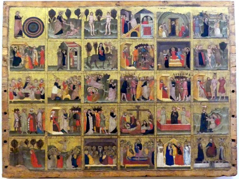 Dreißig Szenen aus der Bibel, 2. Viertel 14. Jhd.