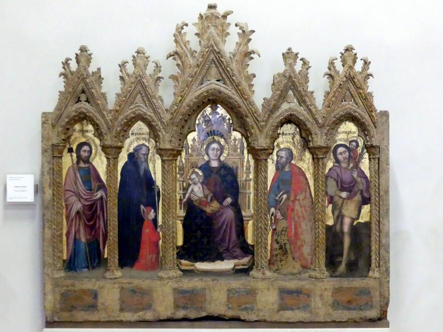 Altichiero da Zevio (Aldighiero): Polyptichon aus Boi, Undatiert