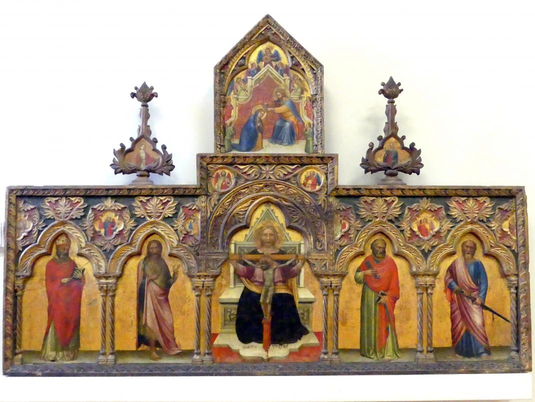 Turone di Maxio: Polyptichon der Dreifaltigkeit, 1360