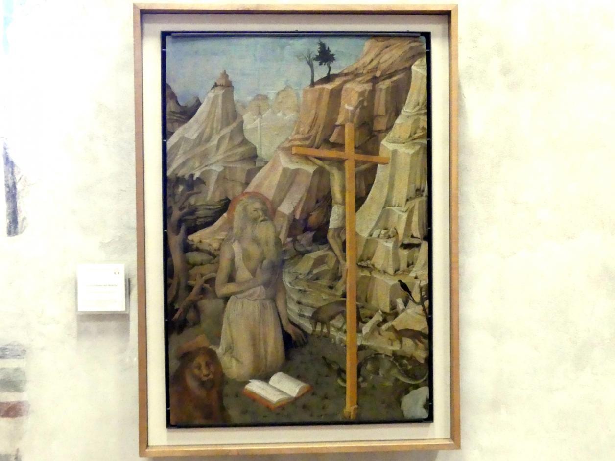 Jacopo Bellini: Hl. Hieronymus in der Wüste, Undatiert