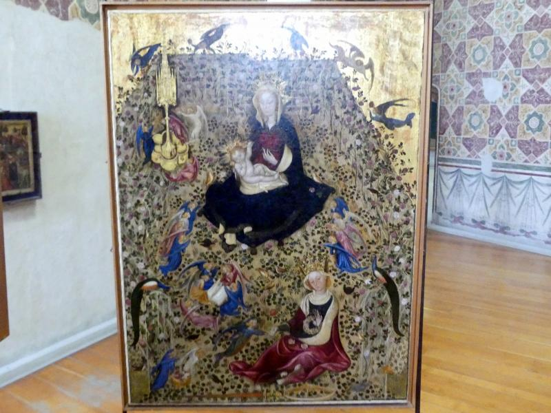 Michelino da Besozzo: Madonna im Rosenhag, Undatiert