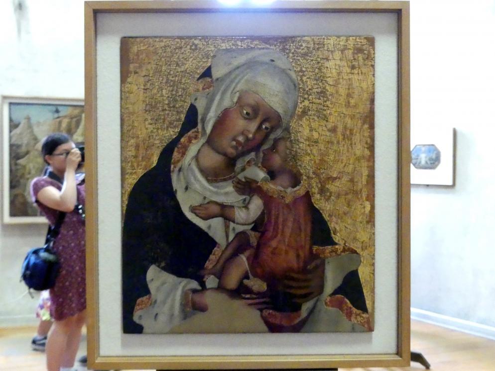 Maria mit Kind, 1. Hälfte 15. Jhd.