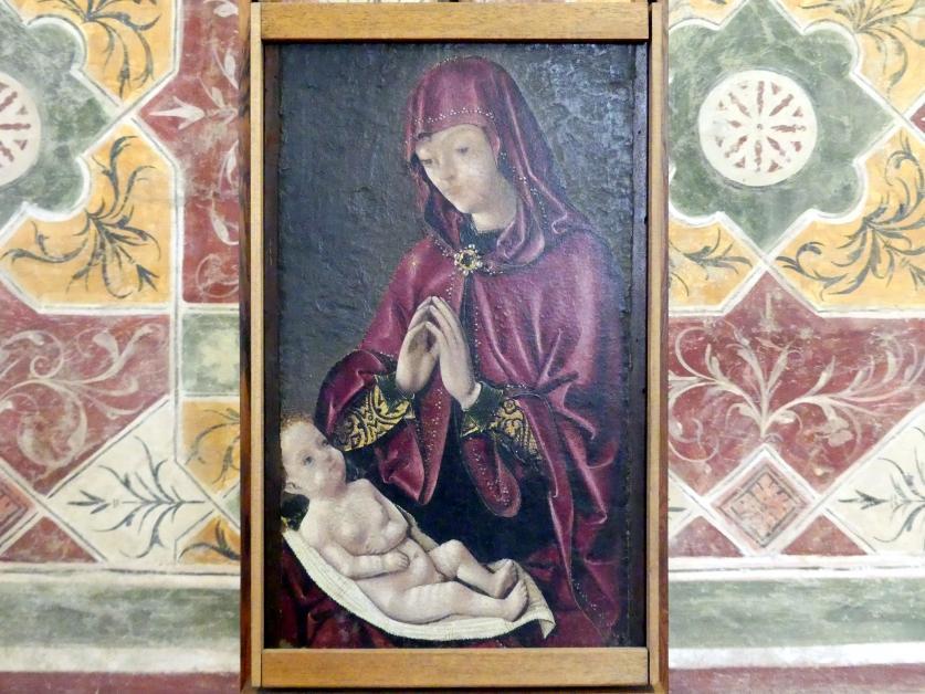 Michele Pannonio: Maria mit Kind, Undatiert