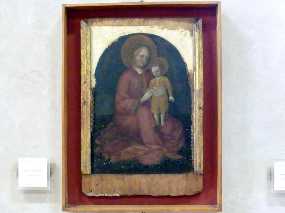 Jacopo Bellini: Maria mit Kind, Undatiert