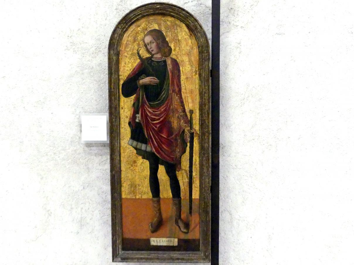 Heiliger Rusticus, 2. Hälfte 15. Jhd.