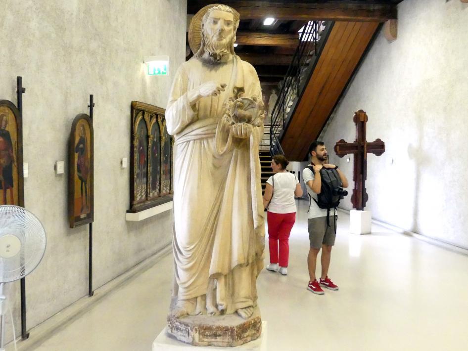 Maestro di Sant'Anastasia: Johannes der Täufer, 1. Hälfte 14. Jhd.