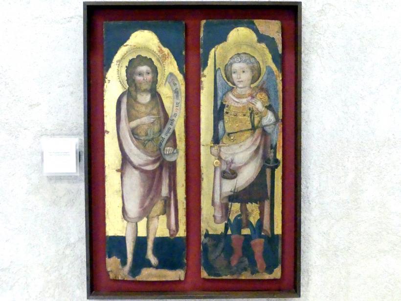 Bottega degli Zavattari: Erzengel Michael, Johannes der Täufer, Undatiert