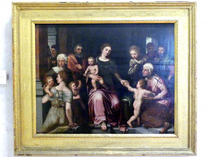 Willem Adriaensz Key: Heilige Sippe, Undatiert