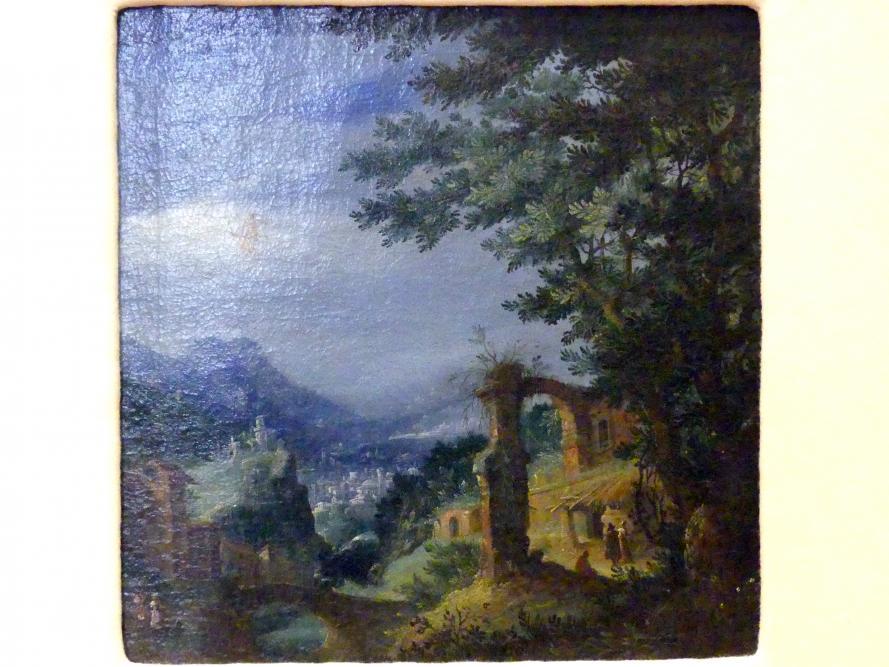 Paul Bril (Umkreis): Landschaft, Beginn 17. Jhd.