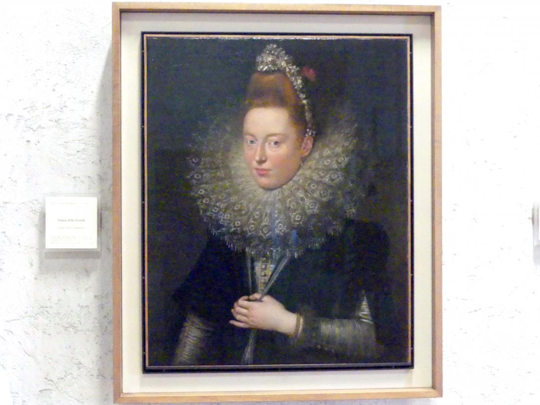 Peter Paul Rubens: Die Dame der Lichtnelken, 1602