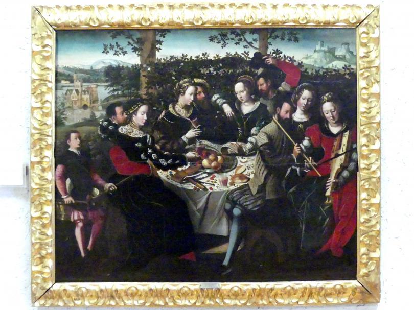 Ambrosius Benson: Tafelkonzert, Undatiert