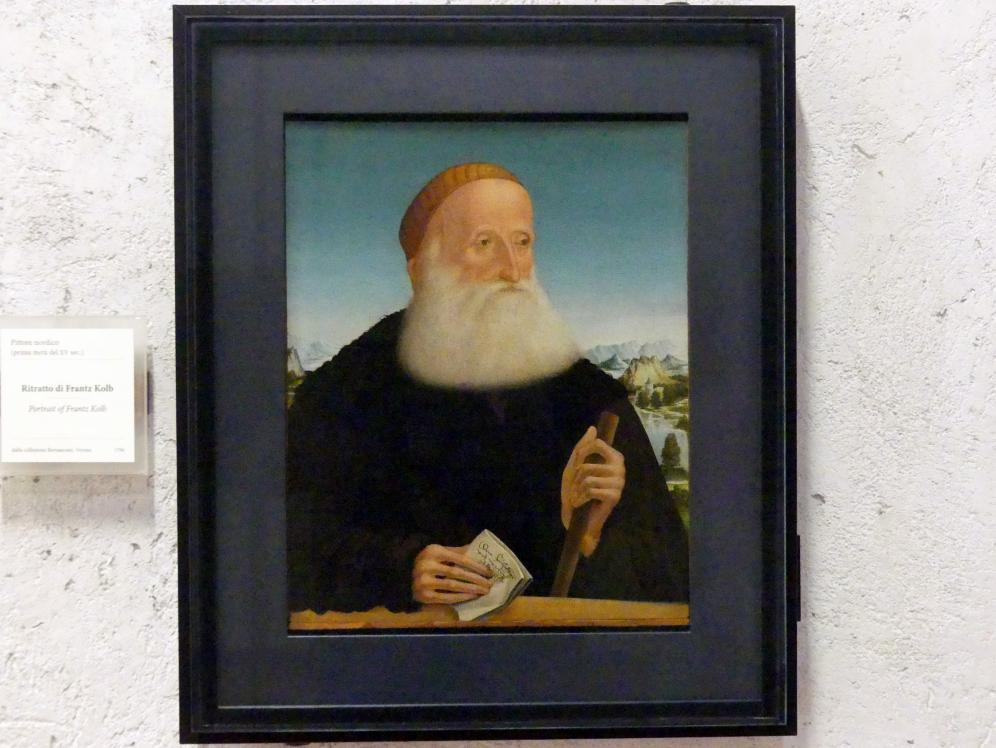 Bildnis des Franz Kolb, 1. Hälfte 15. Jhd.