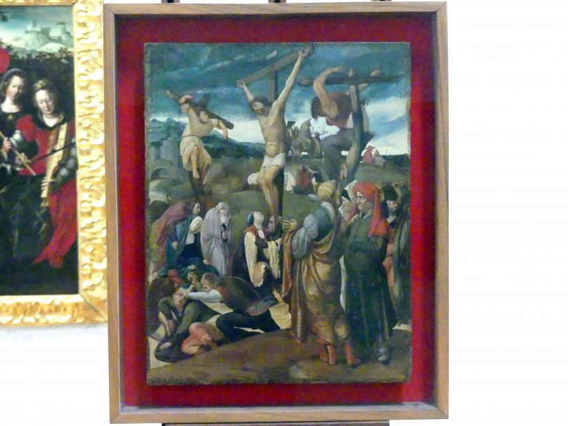 Cornelis Engebrechtsz (Umkreis): Kreuzigung, Undatiert