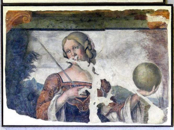 Nicola (Nicolò) Giolfino: Allegorie der Geometrie, Undatiert