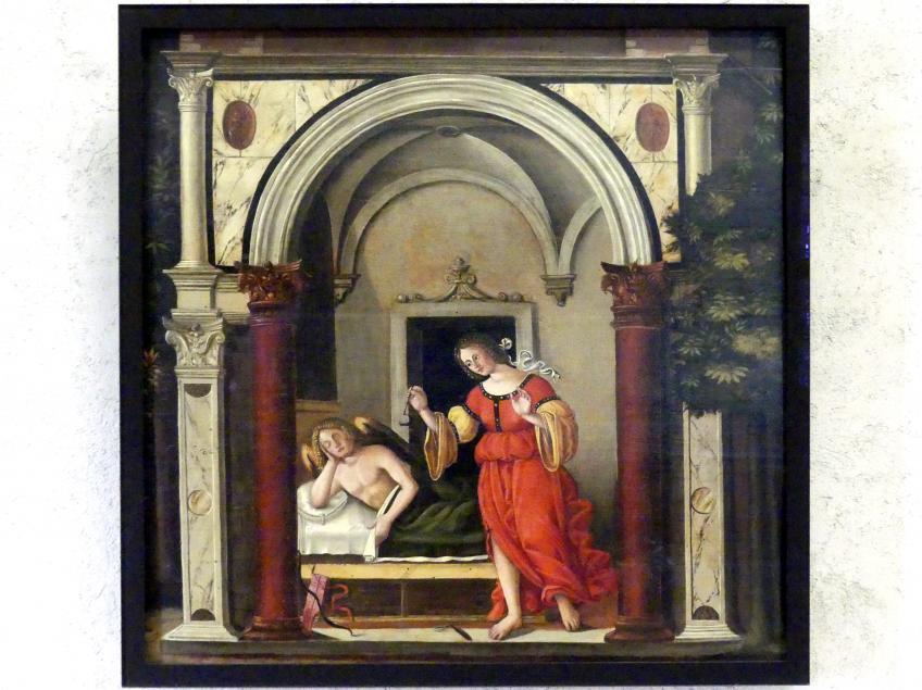 Nicola (Nicolò) Giolfino: Amor und Psyche, um 1500, Bild 1/2