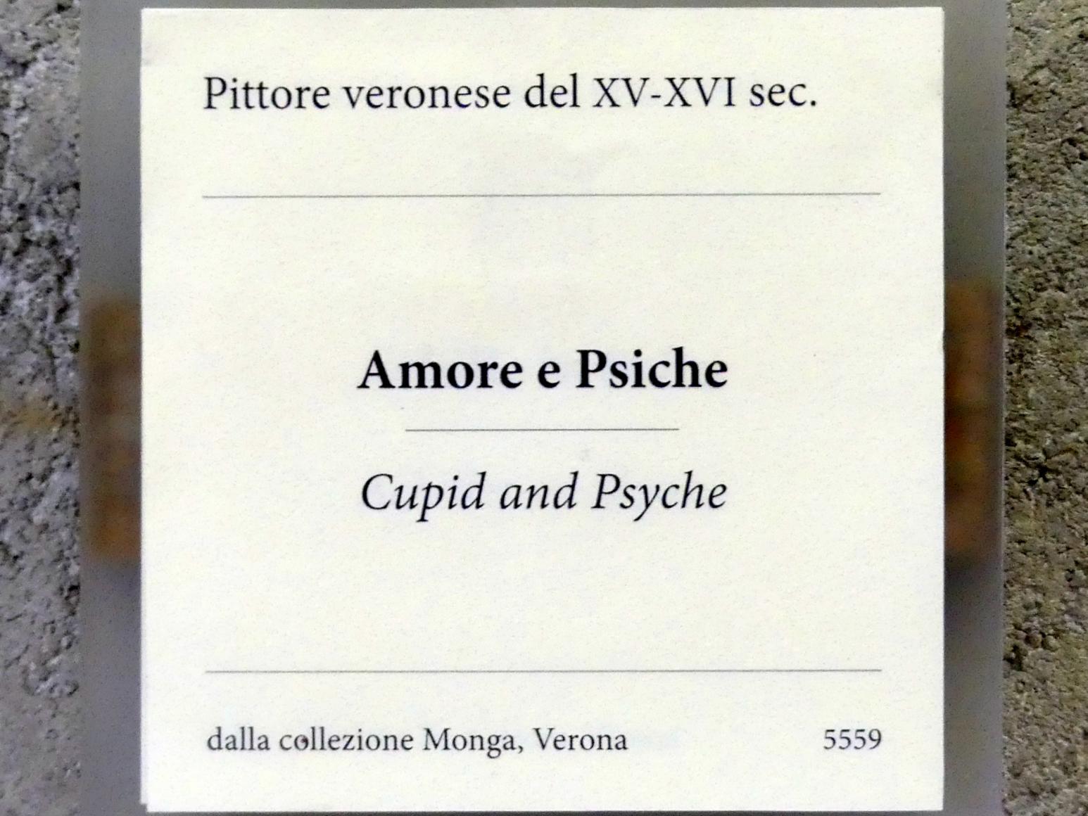 Nicola (Nicolò) Giolfino: Amor und Psyche, Um 1500