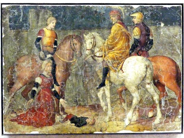 Girolamo Mocetto: Die Gerechtigkeit Trajans, Undatiert