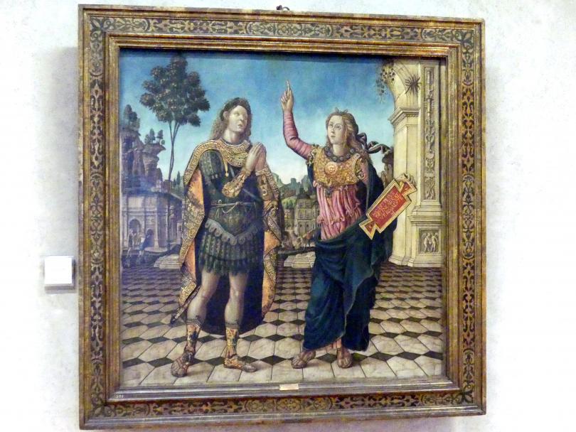 Giovanni Maria Falconetto: Kaiser Augustus und die Sibylle von Tibur, Undatiert