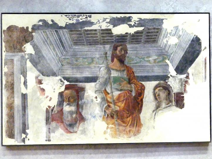 Domenico Morone: Die Heiligen Hieronymus, Jakobus und Laurentius, um 1470 - 1480