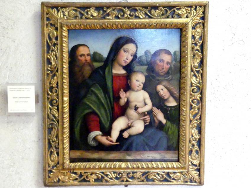 Francesco Francia (Raibolini): Maria mit Kind und Heiligen (Sacra Conversazione), Undatiert