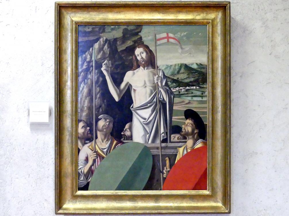 Jacopo da Valenza: Auferstehung Christi, Undatiert