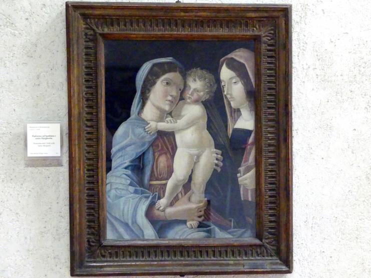 Francesco Bonsignori: Maria mit Kind und der hl. Margarete, Undatiert