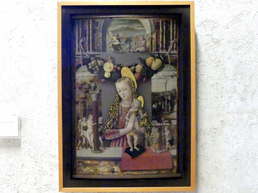 Carlo Crivelli: Maria mit Kind (Madonna der Passion), Undatiert