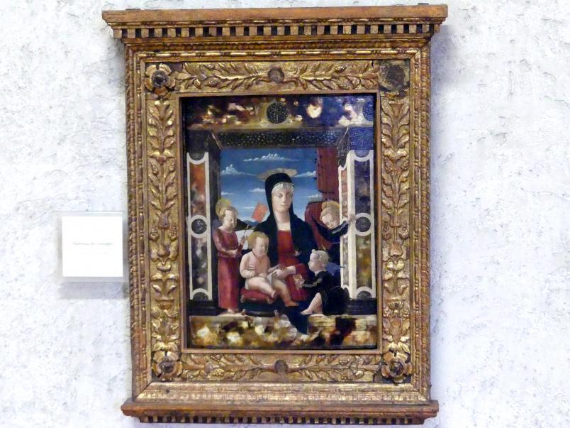 Francesco Benaglio: Maria mit Kind (Madonna mit dem Fächer), Undatiert