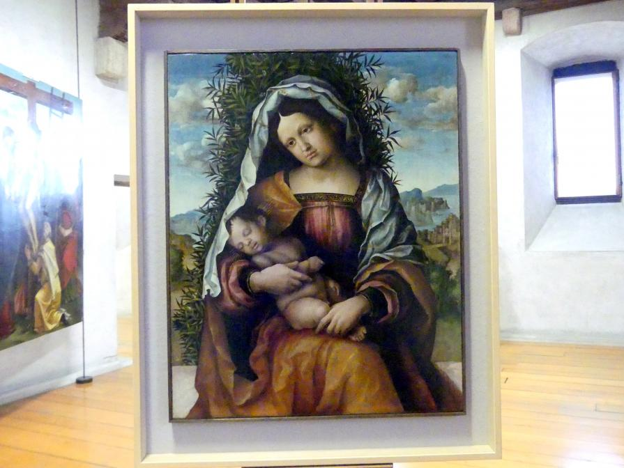 Nicola (Nicolò) Giolfino: Maria mit Kind (Madonna mit dem Jasmin), Undatiert