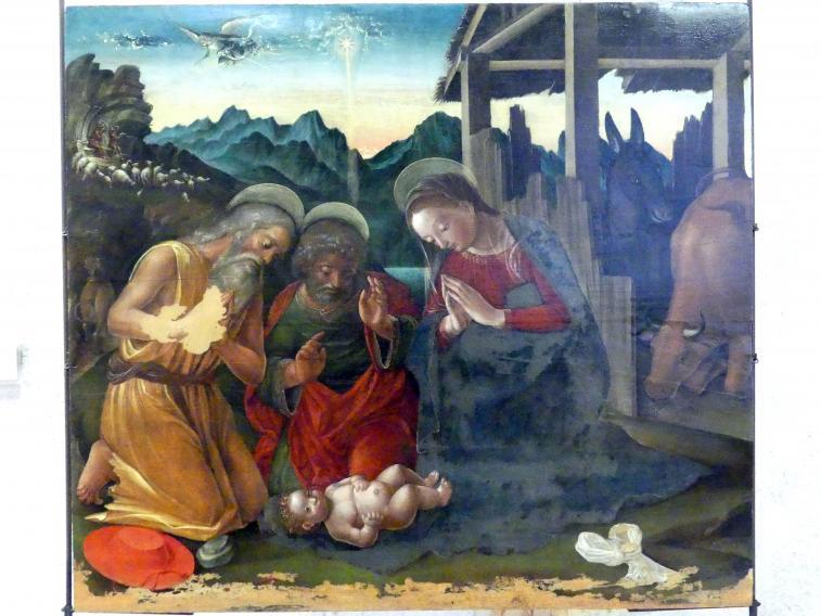 Liberale da Verona: Christi Geburt mit dem Heiligen Hieronymus, Undatiert