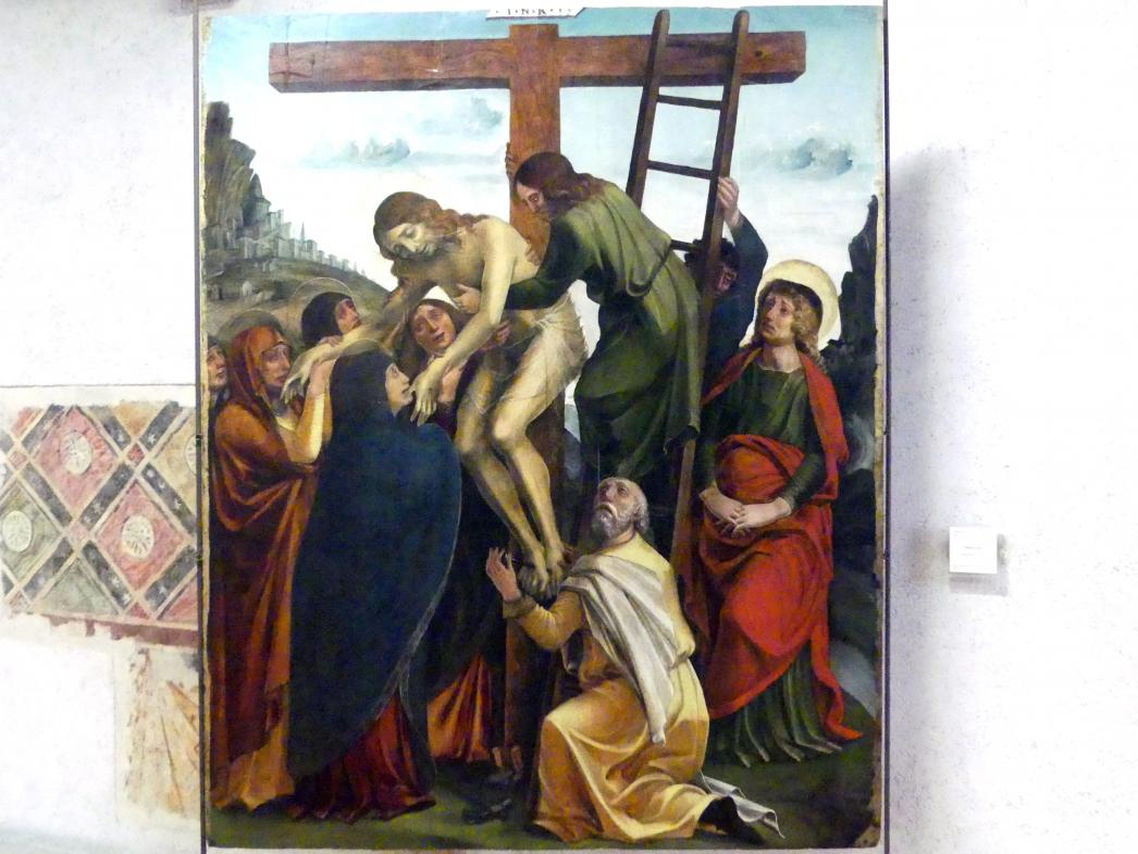 Liberale da Verona: Kreuzabnahme Christi, Undatiert
