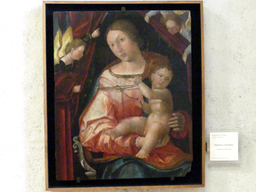 Antonio da Vendri: Maria mit Kind, Undatiert