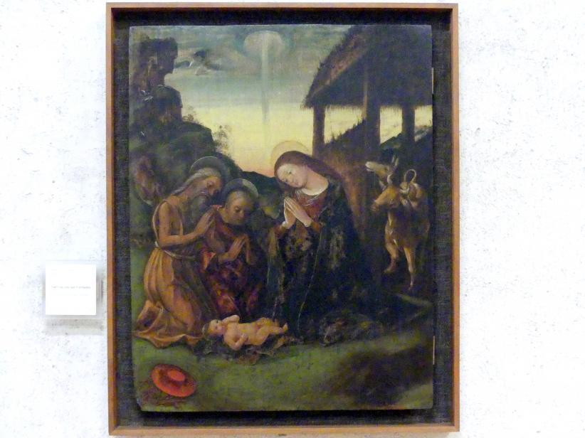 Liberale da Verona: Geburt Christi mit dem Heiligen Hieronymus, Undatiert