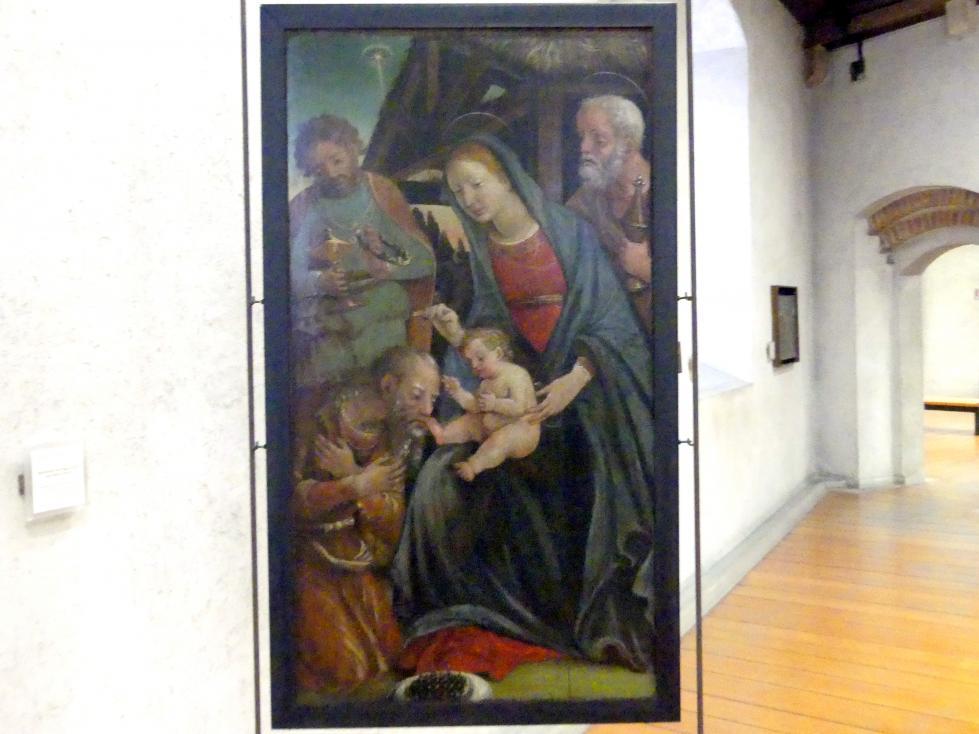 Liberale da Verona: Anbetung der Könige, Undatiert