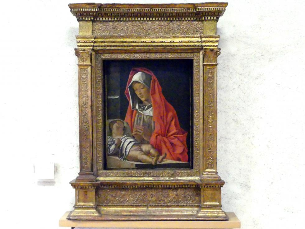 Francesco Bonsignori: Maria mit Kind, 1483