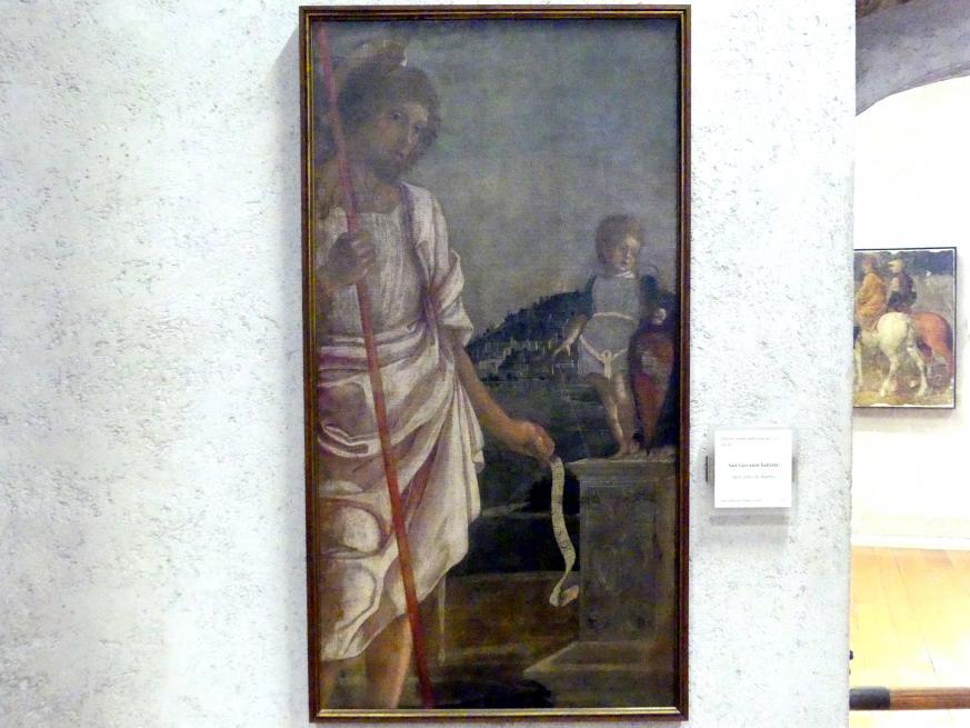 Johannes der Täufer, Ende 15. Jhd.