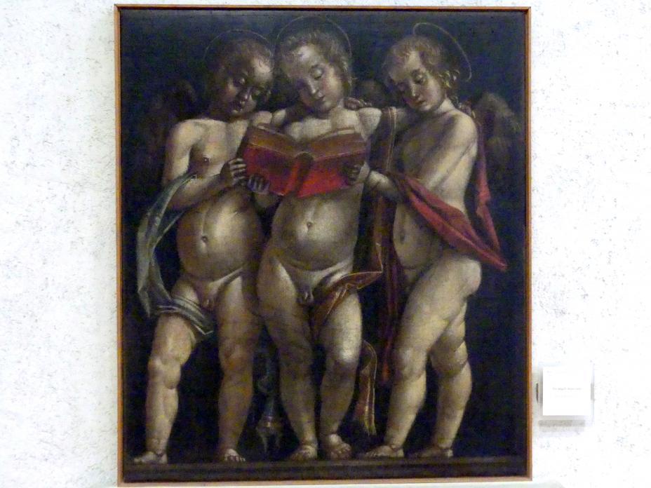 Bartolomeo Montagna: Drei musizierende Engel, Undatiert