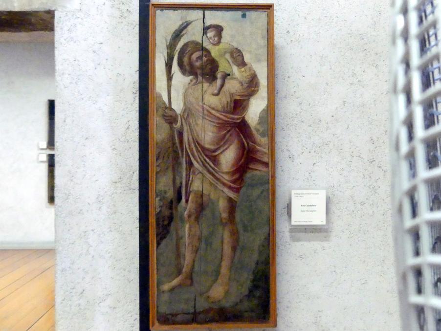 Antonio Vivarini (Werkstatt): Heiliger Christophorus, Undatiert
