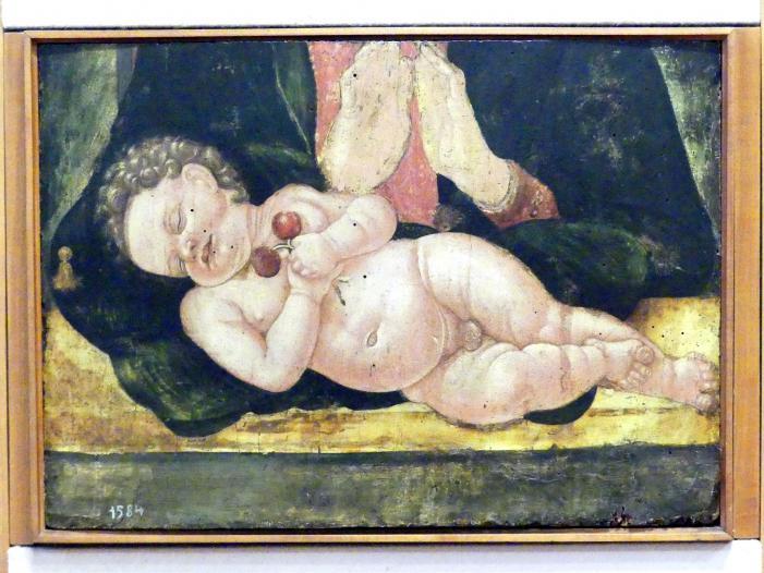 Andrea da Murano (Andrea di Giovanni): Fragment einer Maria mit Kind, Undatiert