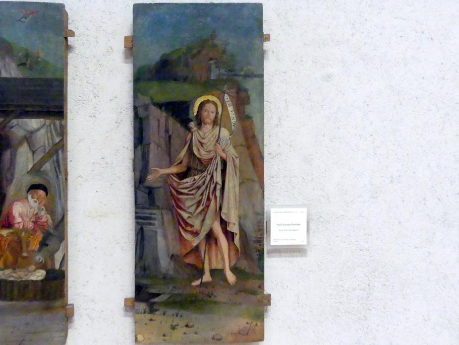 Francesco Morone: Johannes der Täufer, Undatiert