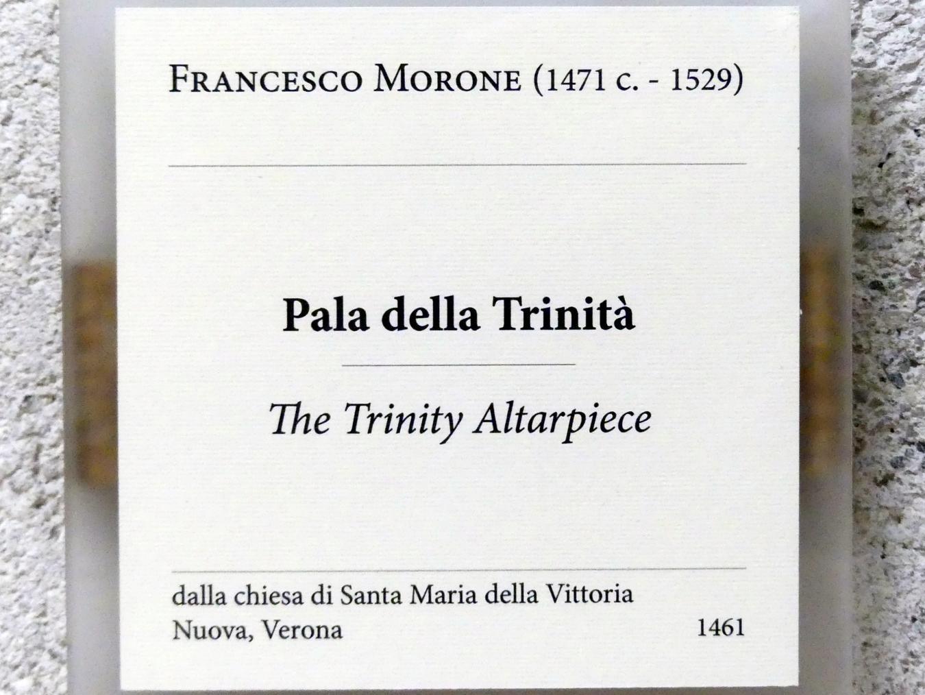 Francesco Morone: Dreifaltigkeitsaltar, Undatiert, Bild 2/2