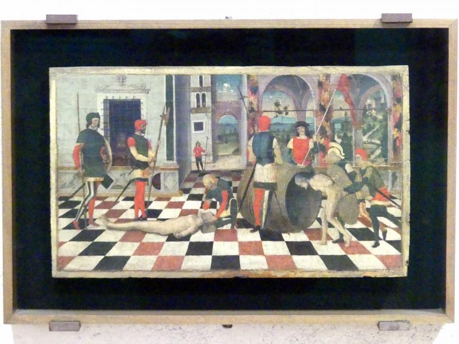 Girolamo Mocetto: Folter des Atilius Regulus, Undatiert