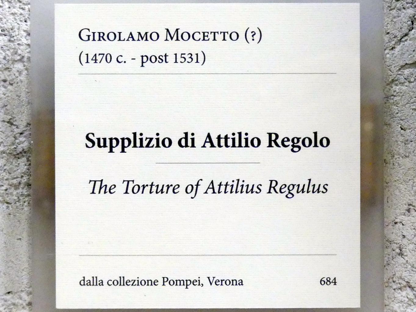 Girolamo Mocetto: Folter des Atilius Regulus, Undatiert, Bild 2/2