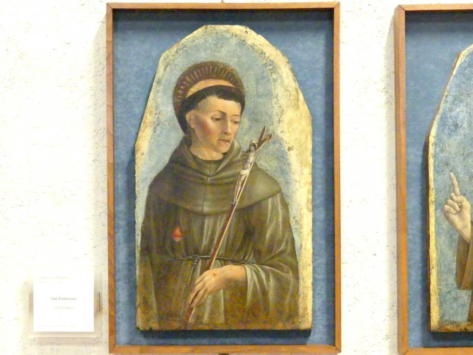 Domenico Morone: Heiliger Franziskus, Undatiert