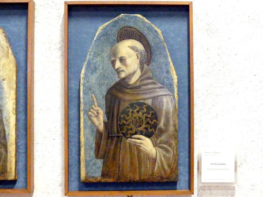 Domenico Morone: Heiliger Bernhardin von Siena, Undatiert