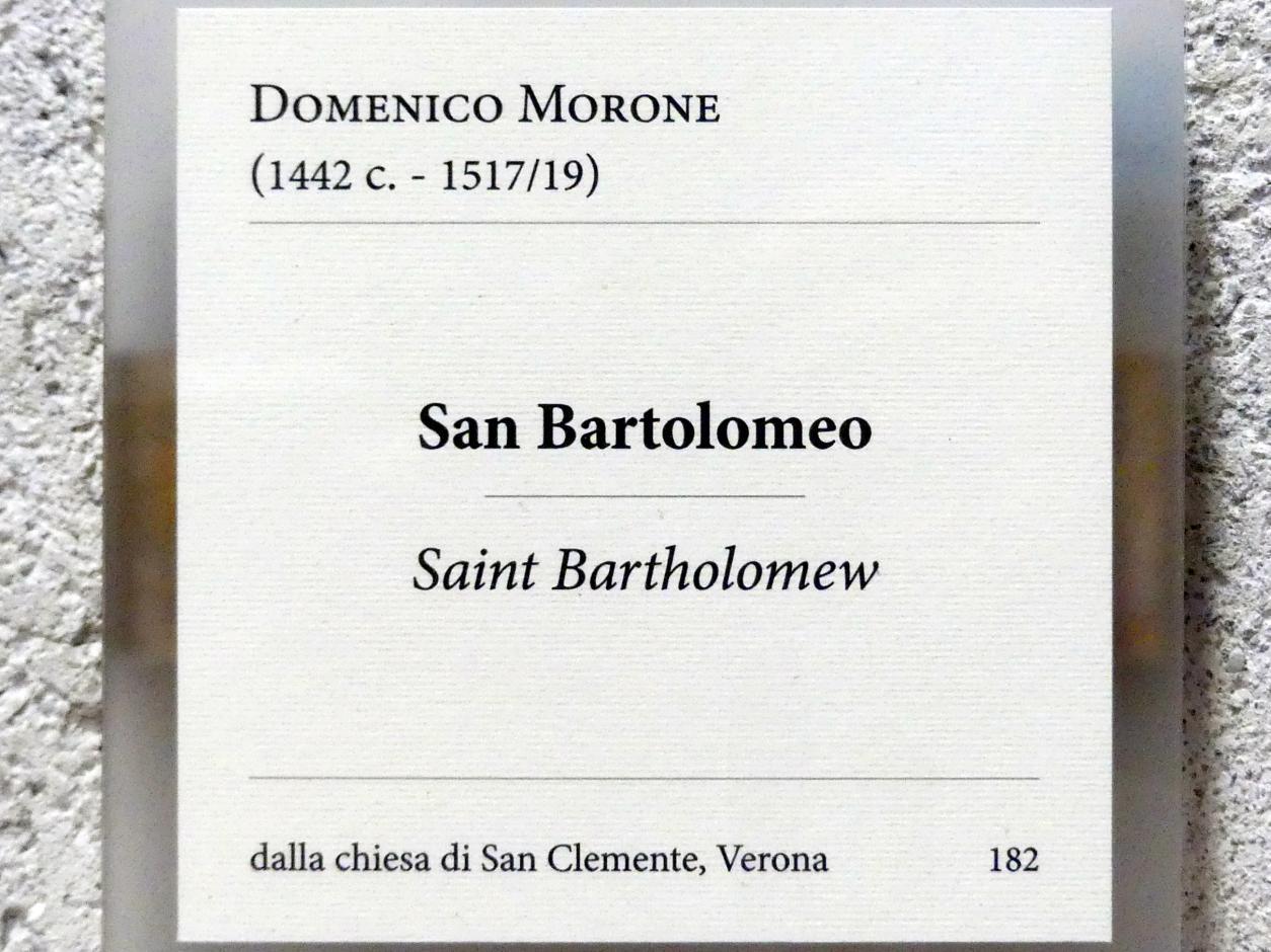 Domenico Morone: Heiliger Bartholomäus, Undatiert, Bild 2/2