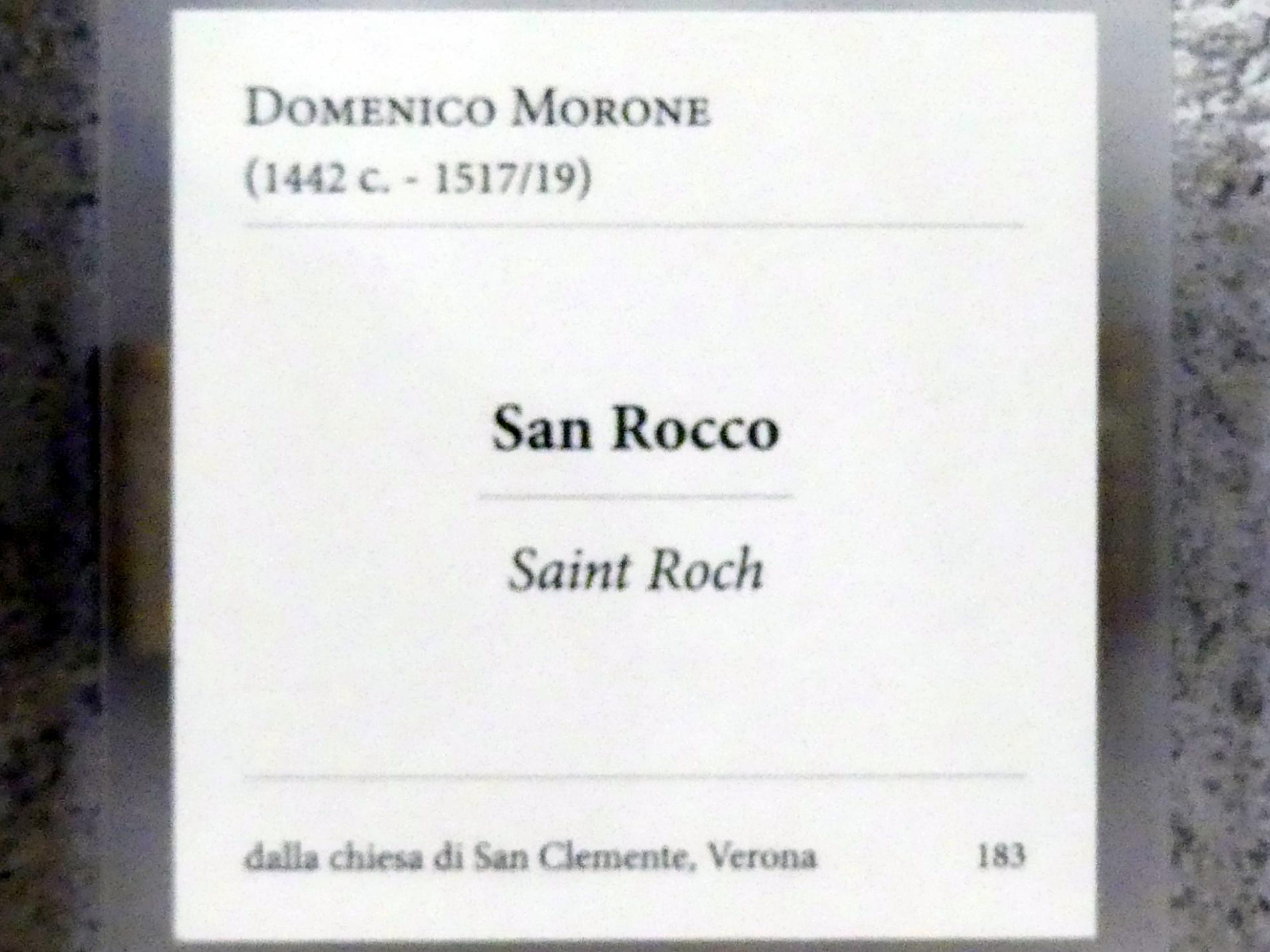Domenico Morone: Heiliger Rochus, Undatiert, Bild 2/2
