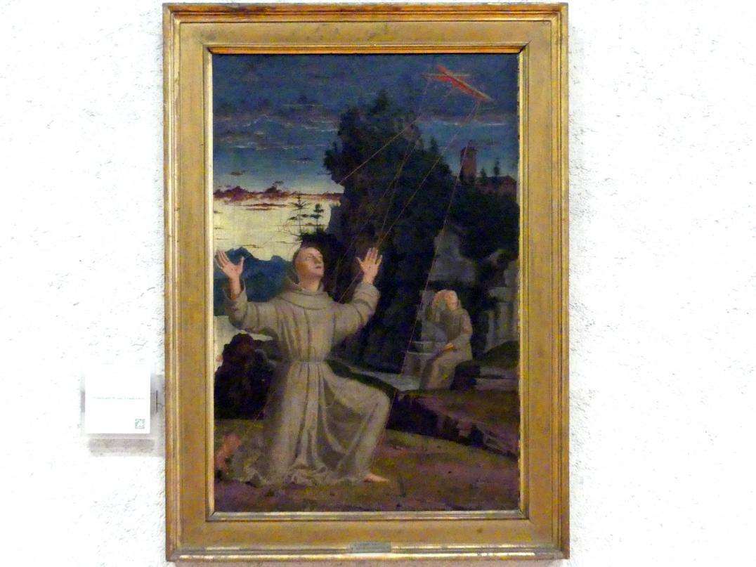 Francesco Morone: Der Heilige Franziskus empfängt die Stigmata, Undatiert