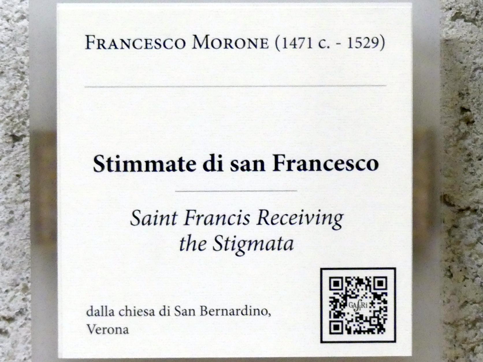 Francesco Morone: Der Heilige Franziskus empfängt die Stigmata, Undatiert, Bild 2/2