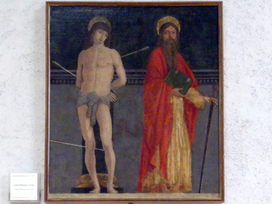 Francesco Morone: Die Heiligen Sebastian und Paulus, Undatiert